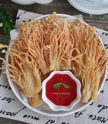 Enoki Crispy Resep Makanan Makanan Resep Jamur