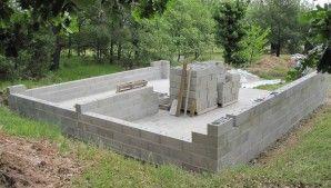 Monter Un Garage En Parpaing Construire Pour 2 V Hicules Le Blog De Richard Garage Construire Un Garage Parpaing