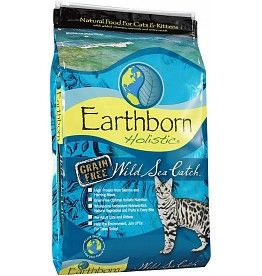 Earthborn Holistic Earthborn Holistic Cat Kibble Wild Sea Catch Salmon 14 Lbs Natural Cat Food Cat Food Dry Cat Food