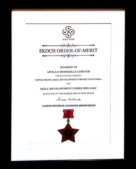 SKOCH-ORDER-OF-MERIT Award
