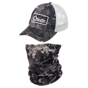 c0d885d36 World Wide Sportsman Logo Cap and Sun Stopper Gaiter Combo ...