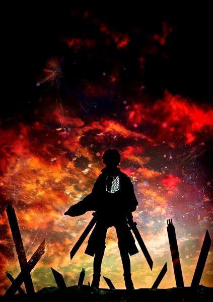 Attack On Titan Wallpaper 4k Phone Trick Em 2020 Animes Wallpapers Personagens De Anime Anime