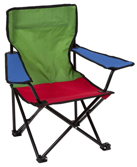 Pacific Play Tents Tri Color Kids Super Duper Folding Chair Kids Camping Chairs Outdoor Folding Chairs Folding Beach Chair