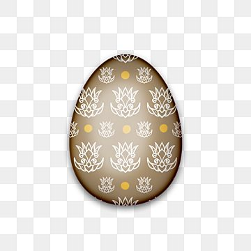 Brown Easter Egg 2021 Transparent Background Ornament Realistic Icon Png Transparent Clipart Image And Psd File For Free Download In 2021 Easter Colors Easter Eggs Luxury Easter