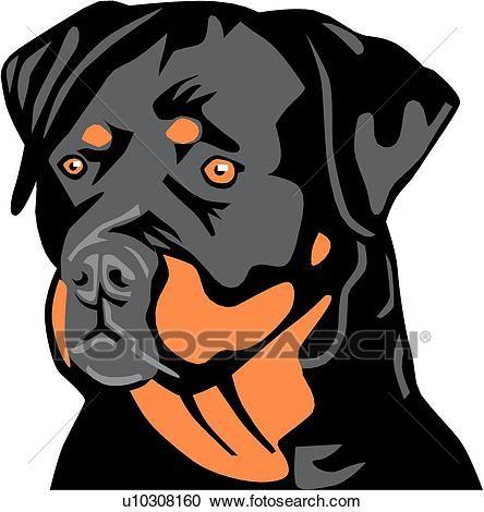 Rottweiler Clipart Rottweiler Dog Rottweiler Dogs