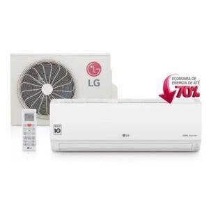 Ar Condicionado Split Hi Wall Lg Dual Inverter 9000 Btus Frio 220v
