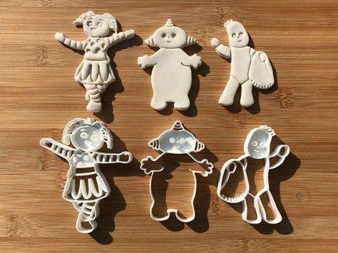 Makka Pakka Cookie//Icing Cutter