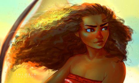 Moana by Chemi-ckal on DeviantArt