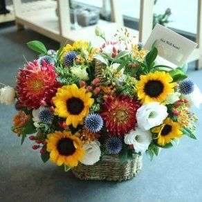 Flower Basket Radiant Strangth In Udaipur 1899 Online Flower Delivery Best Flower Delivery Best Online Flower Delivery