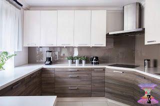 اشكال مطابخ صغيرة 2019 Small Modern Kitchens With Islands Kitchen Remodel Countertops Kitchen Cabinet Design Kitchen Design