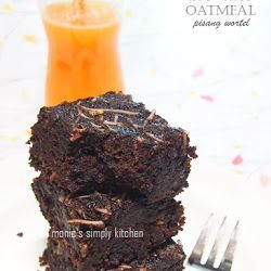 Brownies Oatmeal Pisang Wortel Gluten Free Brownies Makanan Dan Minuman Wortel