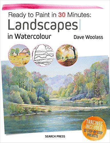 Free Download Pdf Ready To Paint In 30 Minutes Landscapes In