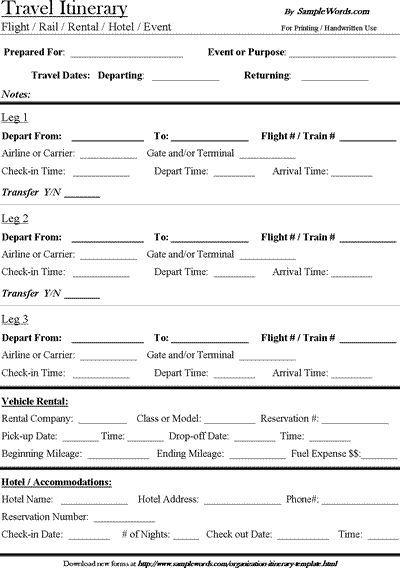Best 25+ Travel itenerary template ideas on Pinterest Walt - event itinerary template