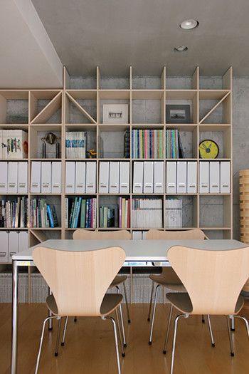 壁一面の本棚 壁面書棚 本棚 本棚 おしゃれ インテリア 書棚 おしゃれ