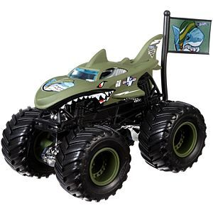 Hot Wheels Monster Jam Shark Shock Vehicle Hot Wheels Monster Jam Hot Wheels Monster Jam