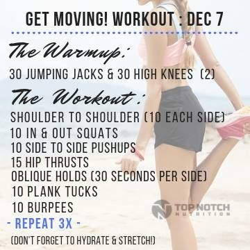 Get Moving With Johnny Fitness Disclaimer Not All Exercise Programs Are Suitable For Everyone Check With Your Doctor Bef Workout Programs Get Moving Workout