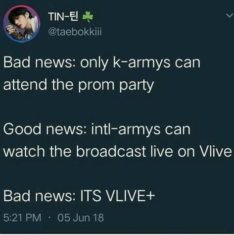SERIOUSLY BIGHIT!!!!! WHY CANT U MAKE IT FREE LIKE LAST YEAR. WAY TO MAKE US POOR ARMYS UPSET!!!