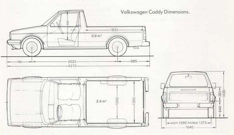 Allg. Informationen und techn. Daten Caddy Typ 14 - Caddy (14d) Allgemein - VW Caddy Community Forum