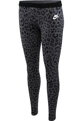 NIKE Women's Leg-A-See Cheetah Printed Tights - SportsAuthority.com