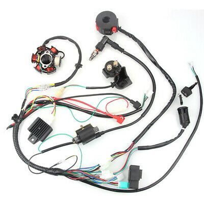 eBay Advertit) Ignition System set Wiring Harness ... on