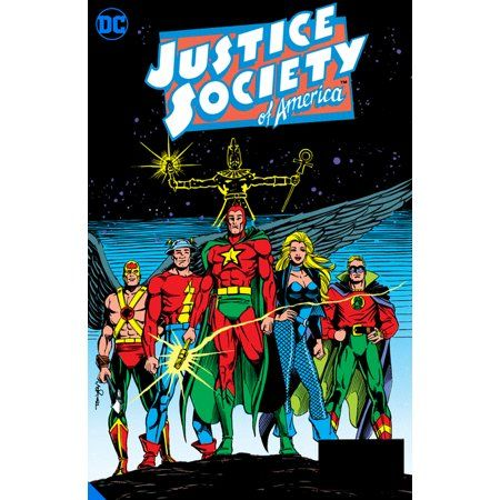 Justice Society Of America The Demise Of Justice Hardcover Walmart Com Justice Society Of America Superhero Art Dc Comics Heroes
