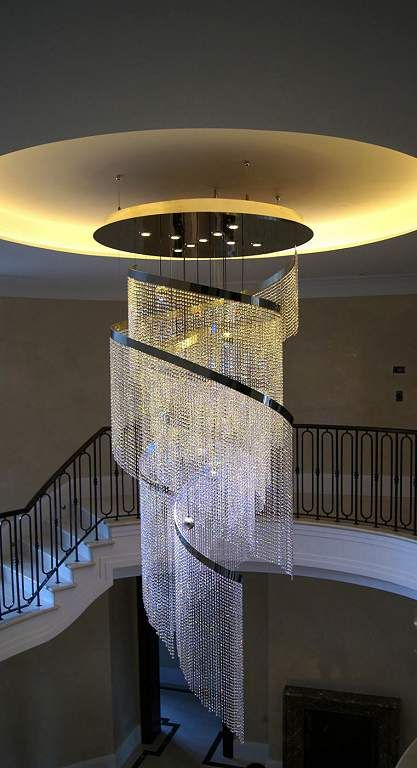 Contemporary LED Glass Chandeliers CCC Ltd