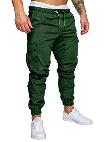 Pantalon de jogging en jeans pour homme de survêtement Sports Jogging Slim Fit