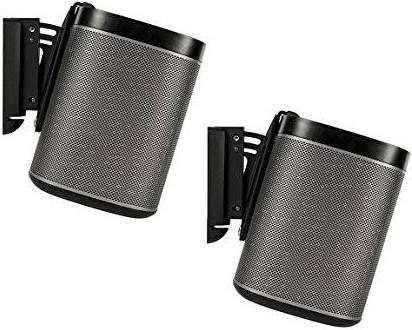 Sonos Play1 Wall Mount Hiding Cable Sonos Speaker Wall Mounts Flexson
