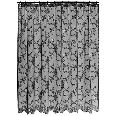 Downton Abbey Yorkshire Shower Curtain Lace Shower Curtains