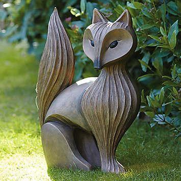 Fox Statue | Garden | Home U0026 Lifestyle | Kaleidoscope | A   Art (  Sculptures )   922 Pins | Pinterest | Gardens