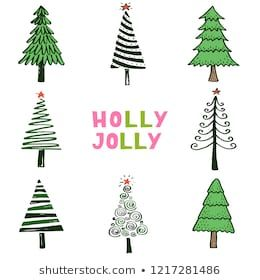 Hand Drawn Illustration Of Christmas Tree Doodle And Scribble Sketch Style Design For Your Cards Sti Christmas Tree Drawing Tree Doodle Christmas Tree Design