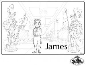 Principe James Para Colorear Paginas Para Colorear Paginas Para Colorear De Navidad Colores