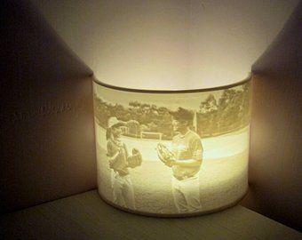 Custom Photo Night Light Lithophane Lamp Led Tealight Holder 3d Printed Personalized Gift Wedding Birthday Anniversary Home Room Decor Tea Light Holder Tea Lights Night Light