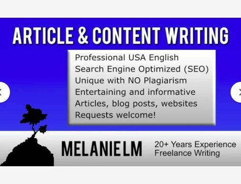 Let's write a unique SEO article, blog post, or website content