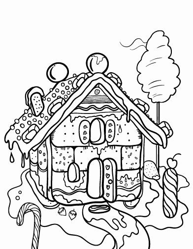 Gingerbread House Coloring Page Awesome 72 Best Icolor Gingerbread Houses Images On Pinterest House Colouring Pages Coloring Pages Dr Seuss Coloring Pages