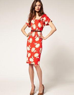 Dress crush. Asos 40's Tea Dress