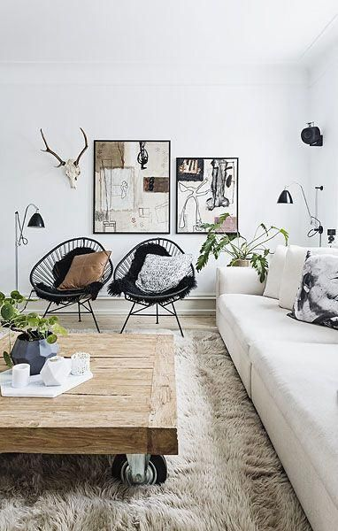 Rustic Luxe Living Room Home Decor