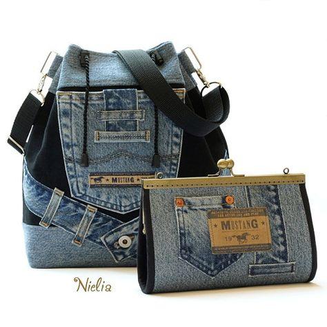 cd4c11305445 Nielia - сумки из джинсов (часть3) / Переделка джинсов / ВТОРАЯ УЛИЦА