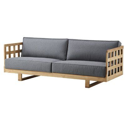 Cane Line Square Patio Sofa With