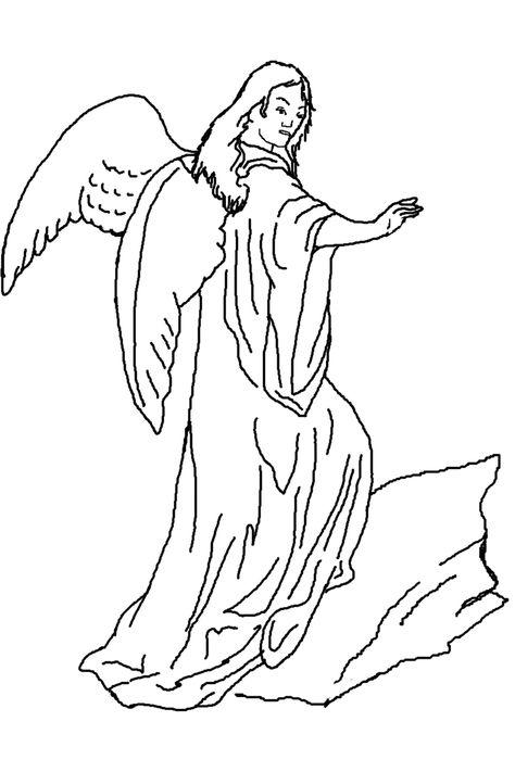unique ausmalbilder schutzengel with images  angel
