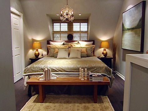 Divine Bedrooms by Candice Olson | Small master bedroom, Candice ...