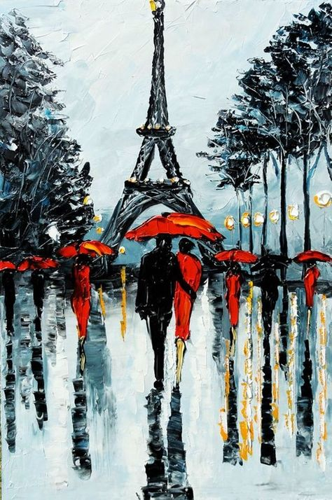 Best Canvas Painting Ideas for Beginners - (6) #OilPaintingForBeginners