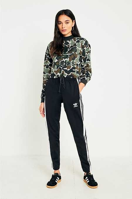 adidas Originals 3 Stripe Popper Track Trousers | fashion