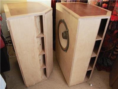 Onken Corner Horn Speakers With 15 Dual Concentric Drivers Speaker Design Subwoofer Box Design Diy Speakers