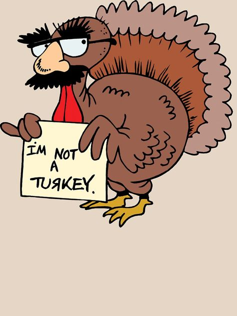Thanksgiving I M Not A Turkey T Shirt By Holidayt Shirts Thanksgiving Cartoon Thanksgiving Jokes Thanksgiving Pictures