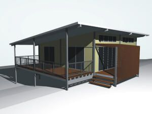 Contemporary Design Steel Pole Homes. Pre Engineered DIY Kit Homes   Or  Constructed For You.