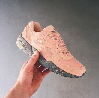 puma coral shoes