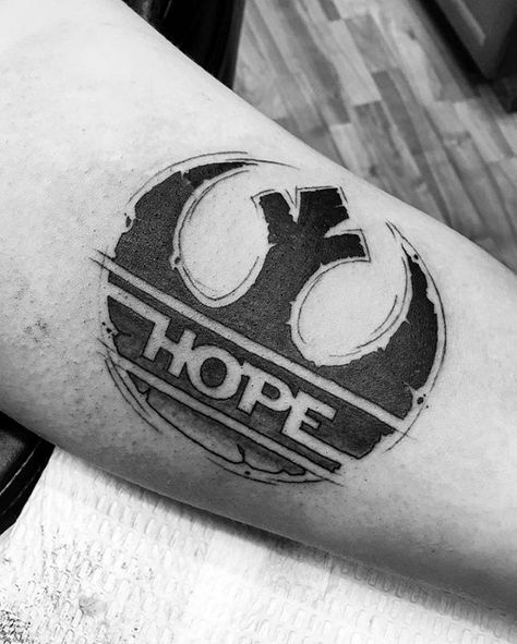 50 Rebel Alliance Tattoo Designs For Men - Star Wars Symbol Ideas