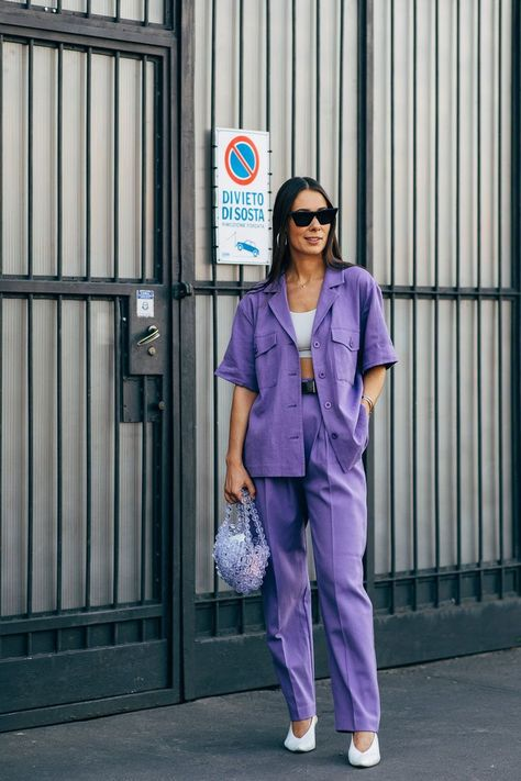 MILAN FASHION WEEK STREET STYLE Of all the Fashion Week destinations, we most look forward to the whimsy and romance that dominates the dress code in Milan. If the fashion set is feeling any