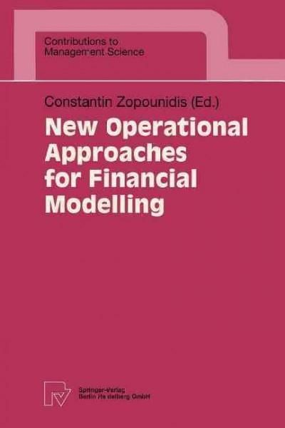 New Operational Approaches for Financial Modelling Products - business modelling using spreadsheets